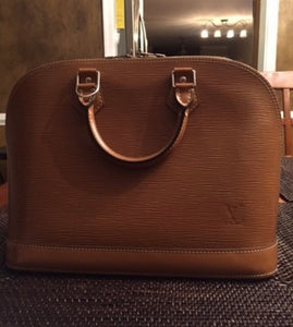 Louis Vuitton Epi  Alma PM bag