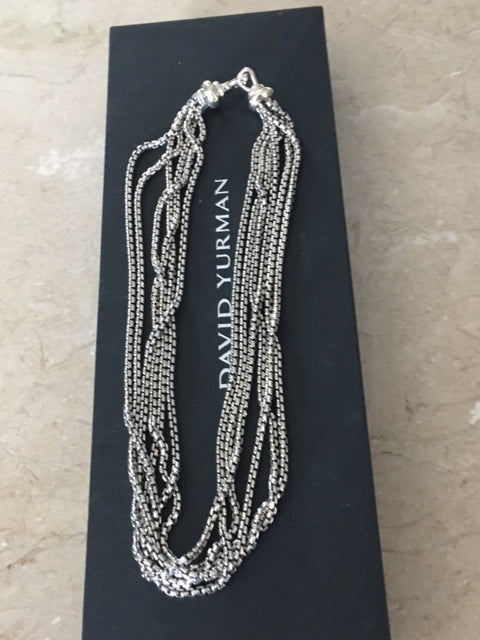 David Yurman Multi Box Chain necklace