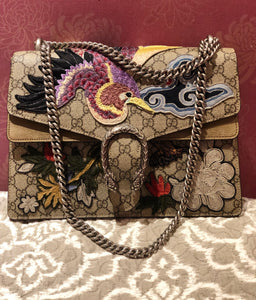 Gucci Embroidered Bird Dionysus bag