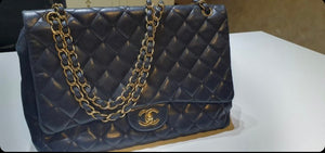 Chanel single flap Maxi bag