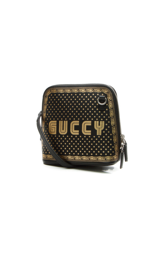 Gucci Guccy Moon Stellar Mini Crossbody Bag - Black