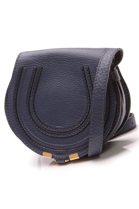 Chloe Marcie Mini Crossbody Bag Royal Navy