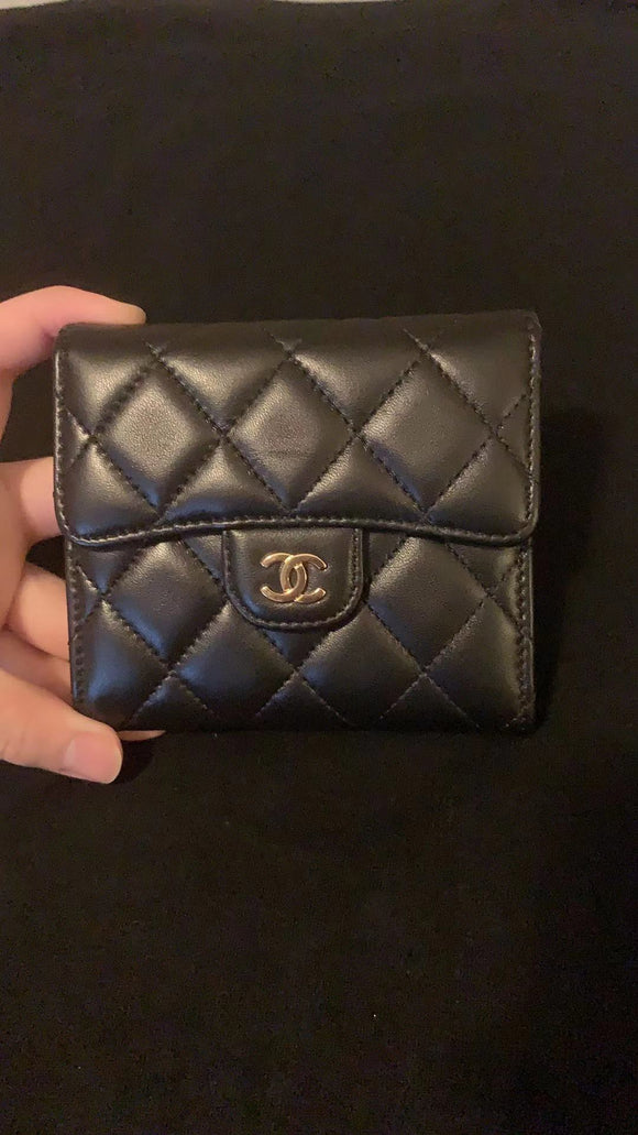 Chanel Quilted Small Compact wallet