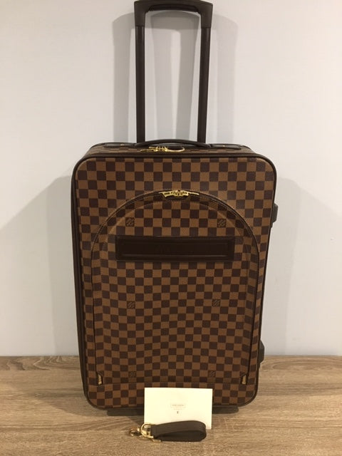 Louis Vuitton Damier Pegase 55 luggage