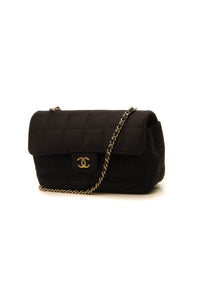 Chanel Quilted Mini Flap Crossbody Bag - Black