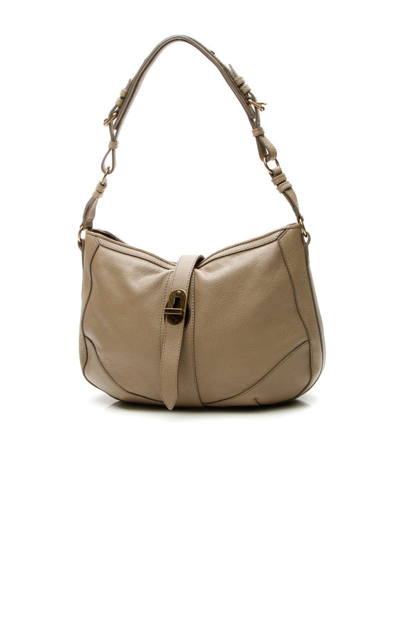 Burberry Bartow Medium Hobo Bag - Taupe