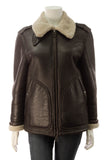 Burberry Aviator Jacket - Brown Size 4