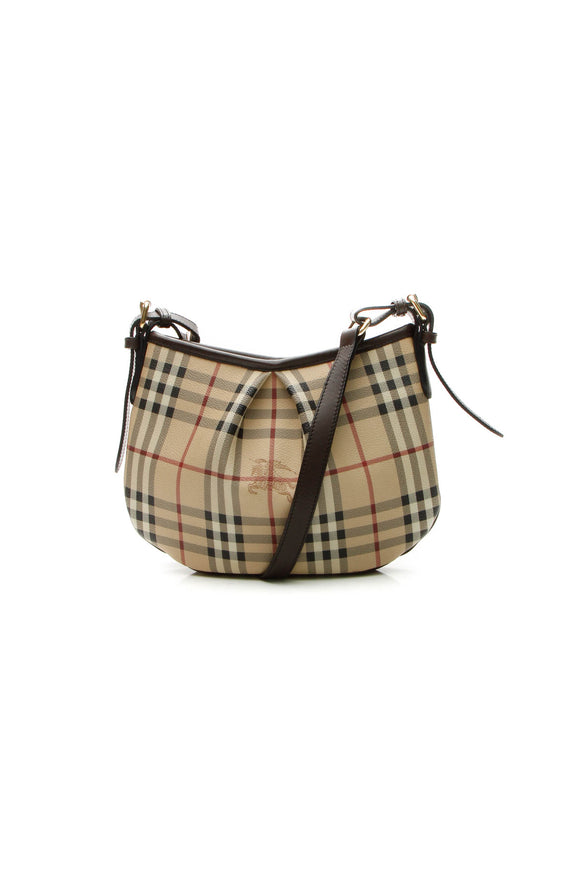 Burberry Crossbody Bag - Haymarket Check