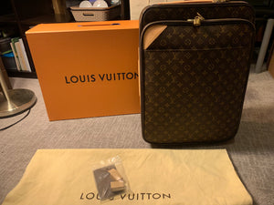 Louis Vuitton Monogram Pegase 55 Rolling luggage