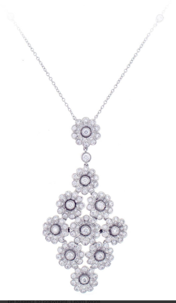 Tiffany Diamond Platinum necklace