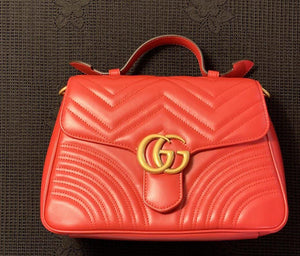 Gucci GG Marmont Top Handle bag