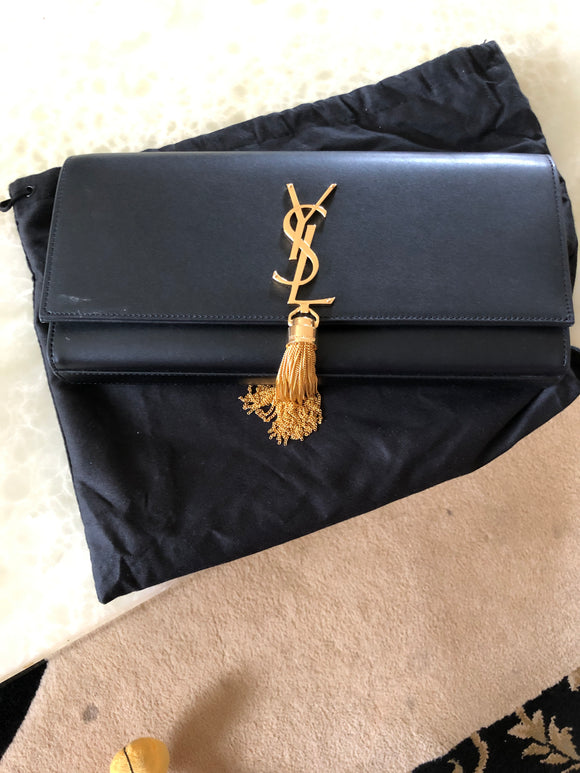 YSL Tassel Clutch bag