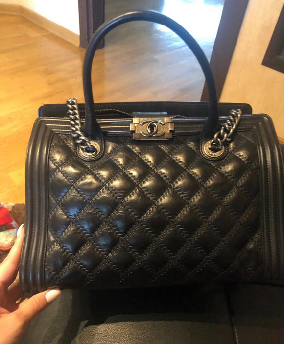 Chanel Large Boy Tote bag