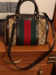 Gucci Small Web Joy Boston bag