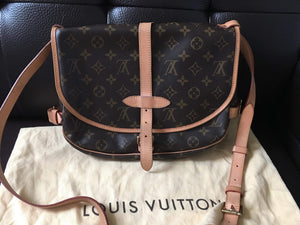 Louis Vuitton Saumur 30 bag