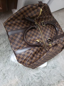 Louis Vuitton Keepall 50 Luggage bag