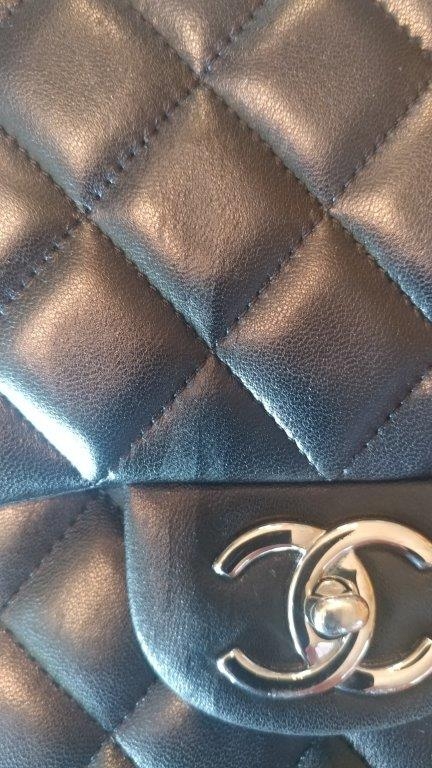 Chanel Jumbo Lambskin Double Flap bag