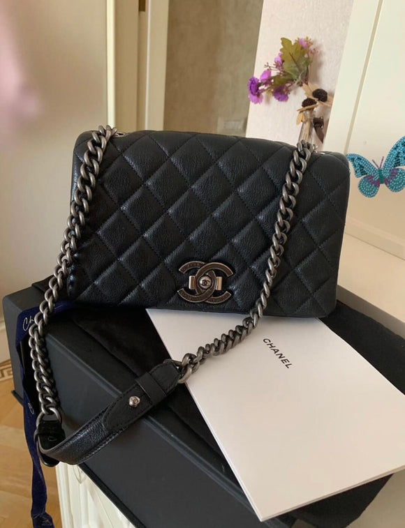 Chanel quilted flap bag 2016