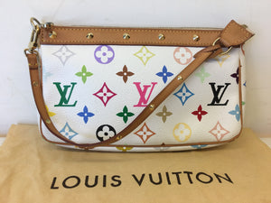 Louis Vuitton Multicolore Pochette bag
