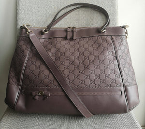Gucci Guccissima Mayfair Two Way Tote