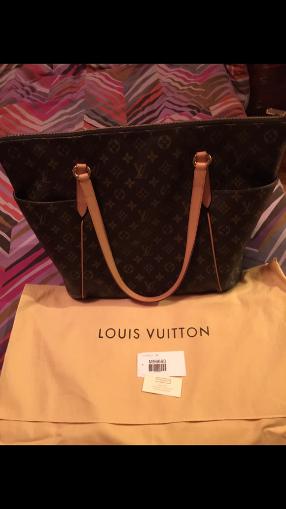 Louis Vuitton Monogram Totally GM bag