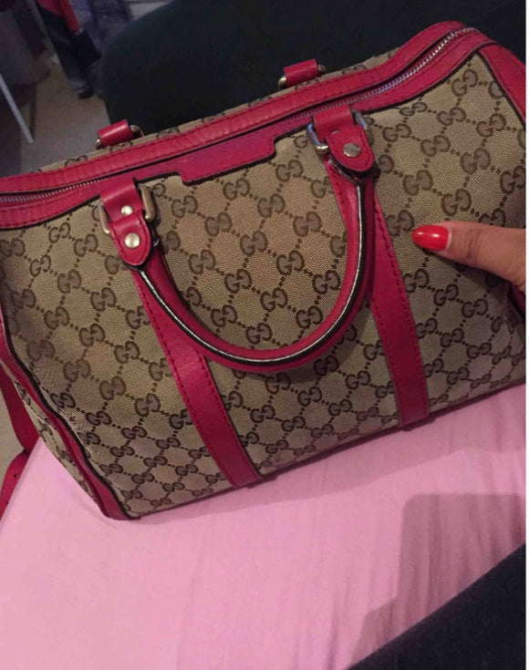 Gucci Pink Boston Joy bag
