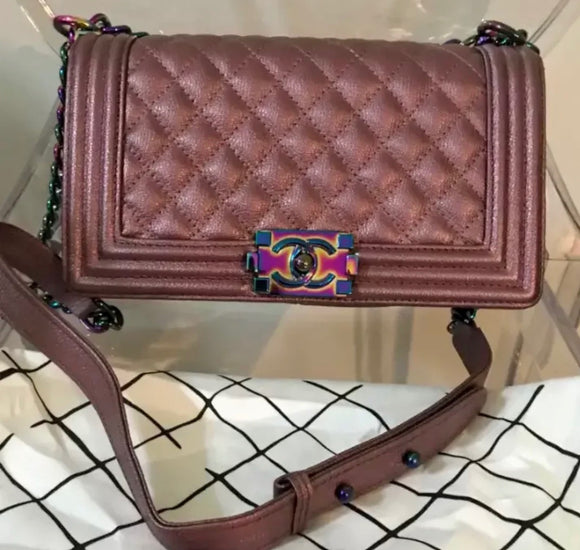 Chanel Iridescent Boy bag