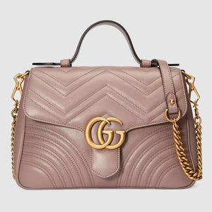Gucci GG Small Marmont Top Handle bag