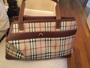 Burberry Check Dog Carrier bag