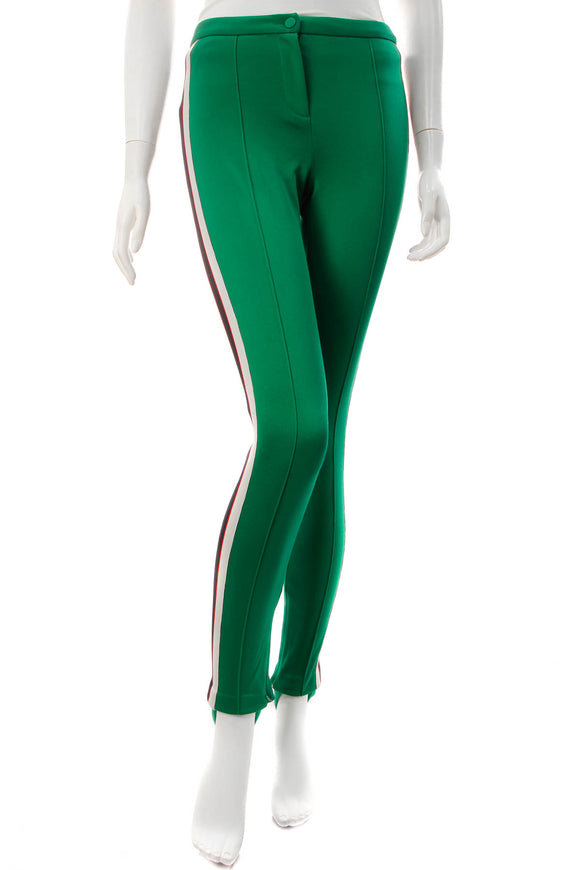 Gucci Technical Jersey Stirrup Leggings - Green Size Extra Small