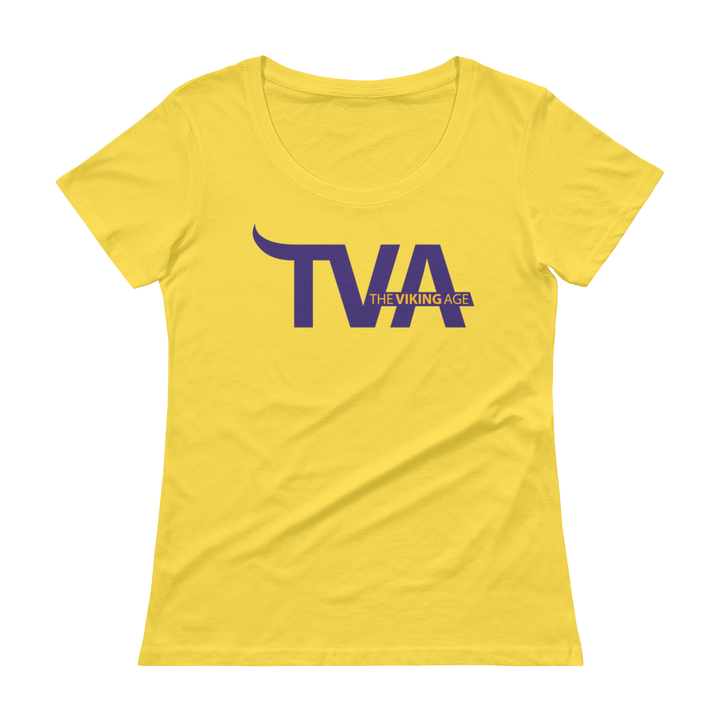 Women's Minnesota Football Scoopneck T-Shirt