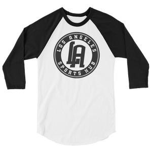 LA Sports Hub 3/4 sleeve raglan shirt