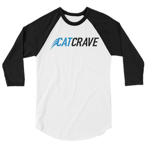 Cat Crave 3/4 sleeve raglan shirt