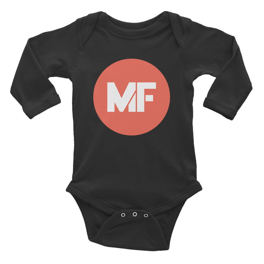 Mental Floss Infant Long Sleeve Bodysuit