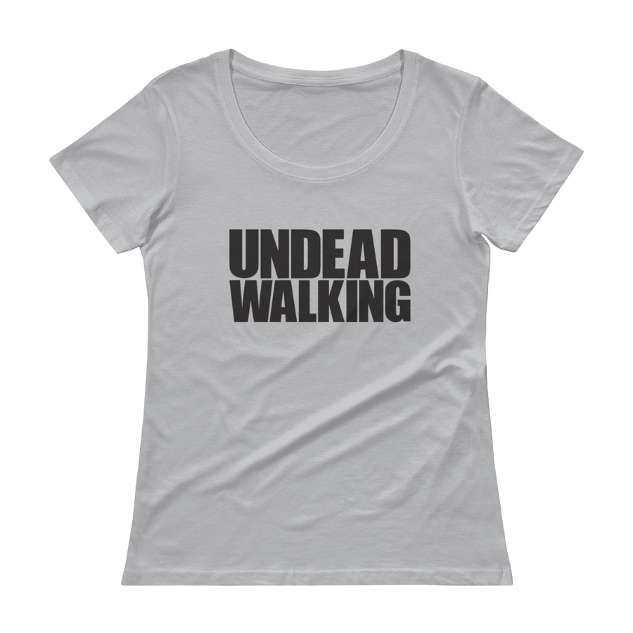 Women's Undead Walking Scoopneck T-Shirt