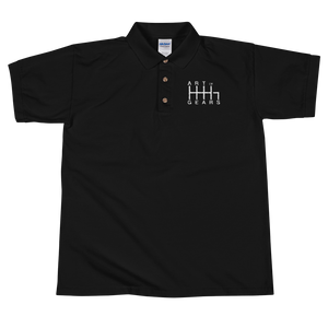 Art of Gears Embroidered Polo Shirt