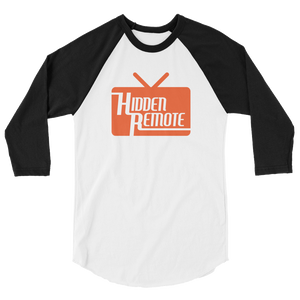 Hidden Remote 3/4 sleeve raglan shirt