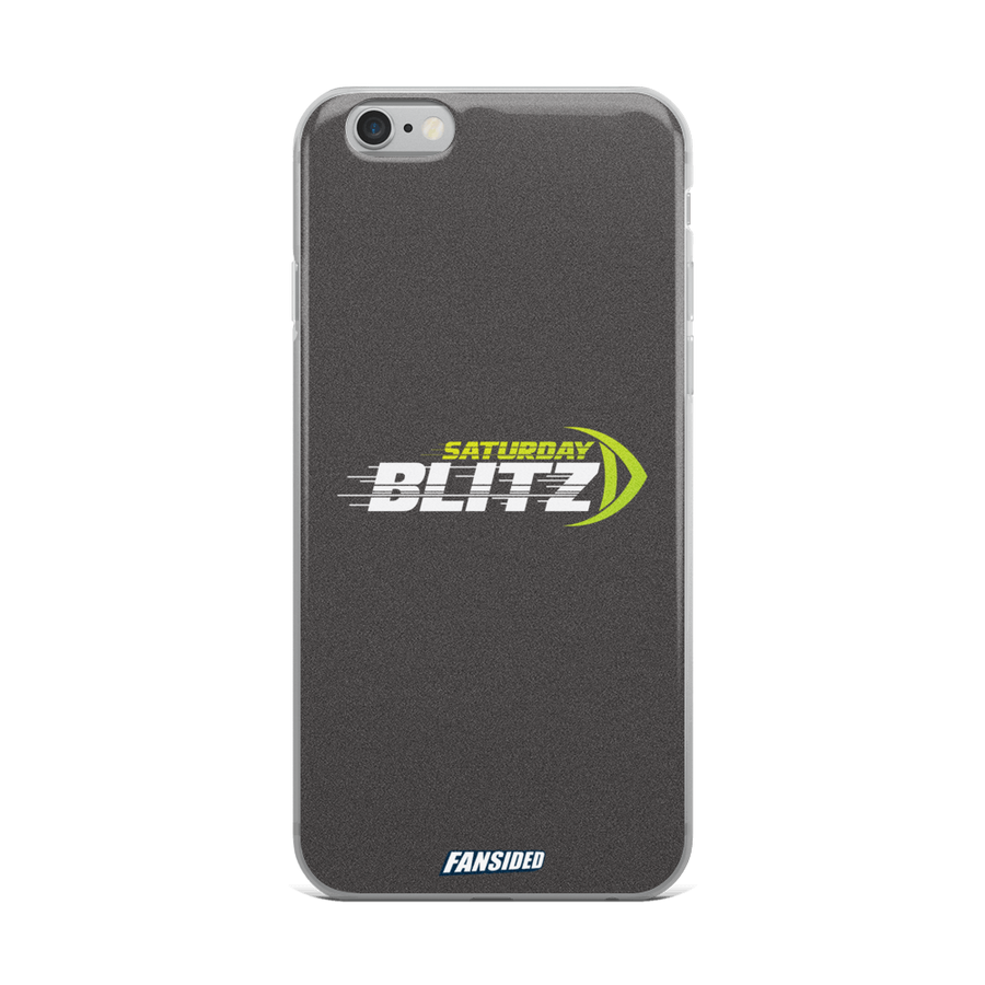 Saturday Blitz iPhone Case
