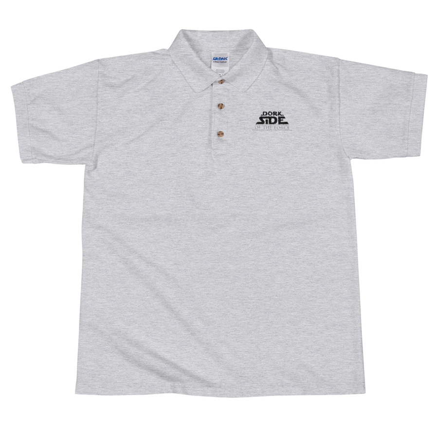Dork Side of the Force Embroidered Polo Shirt