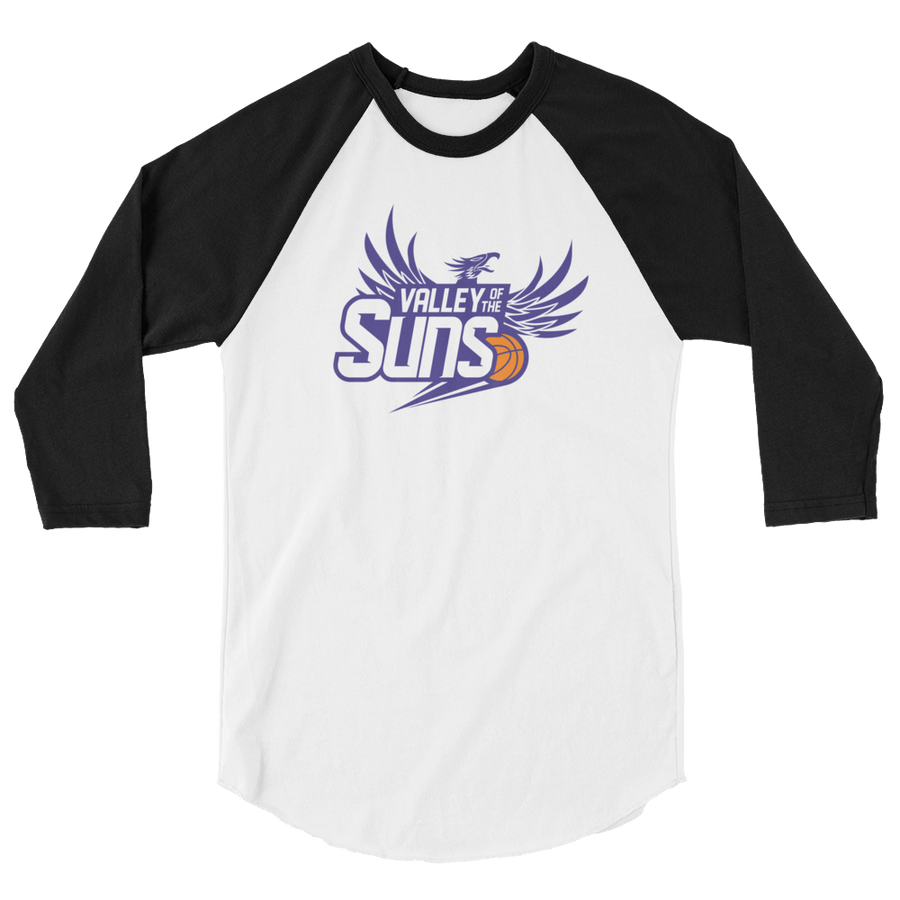 Phoenix Basketball 3/4 sleeve raglan shirt