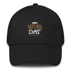 Who Dat Dish Cotton Cap