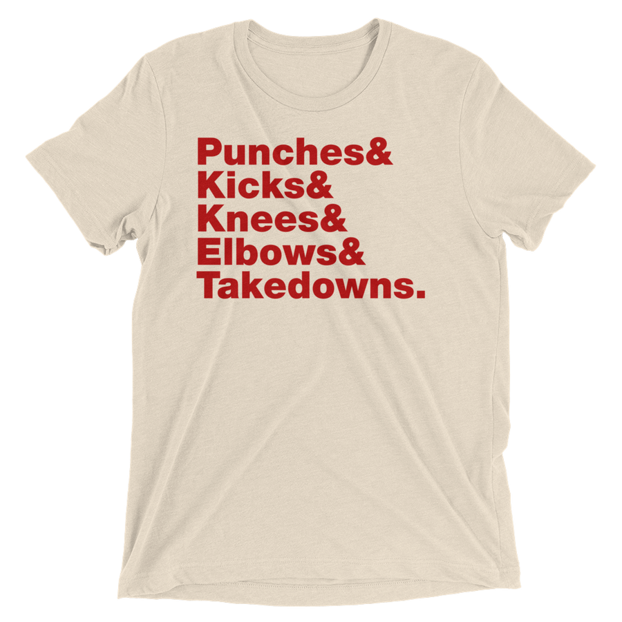 Punches & Kicks Short Sleeve T-Shirt