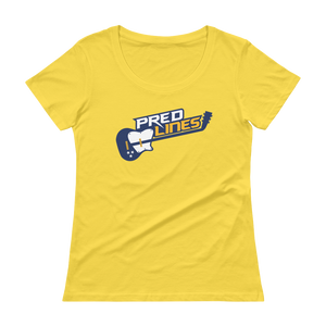 Women's Nashville Hockey Scoopneck T-Shirt
