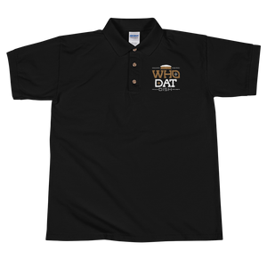 Who Dat Dish Embroidered Polo Shirt