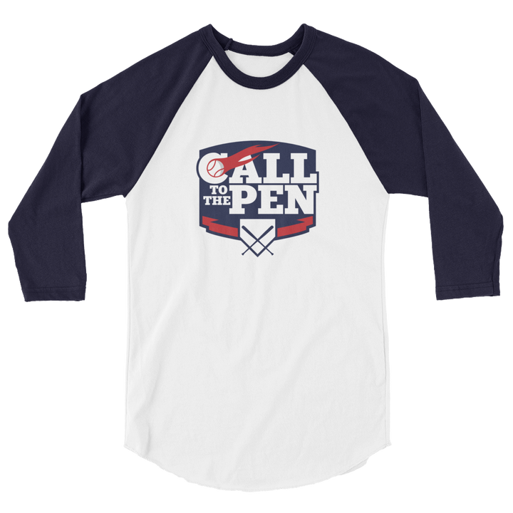 Call to the Pen 3/4 sleeve raglan shirt
