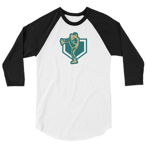 Just Fantasy Baseball 3/4 sleeve raglan Shirt