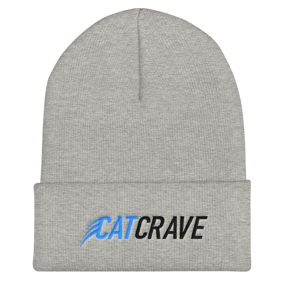Cat Crave Cuffed Beanie