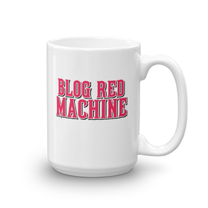 Blog Red Machine Mug