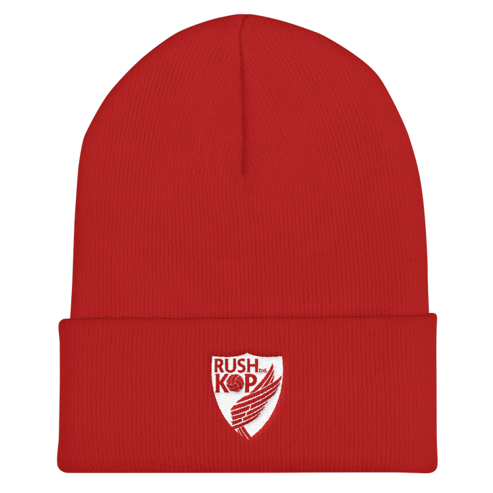Rush The Kop Cuffed Beanie