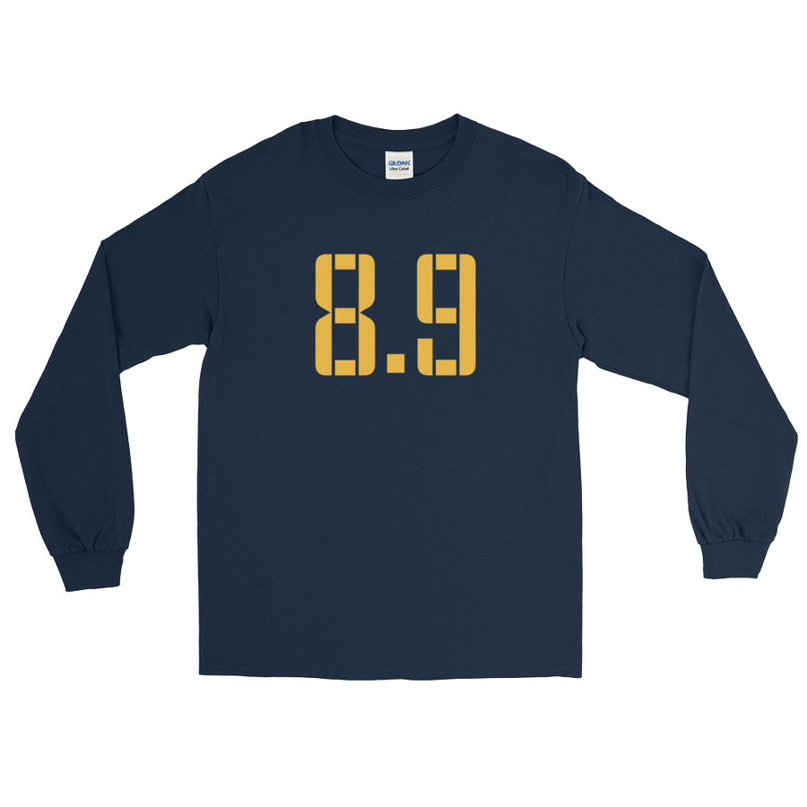 8 Points, 9 Seconds Long Sleeve T-Shirt